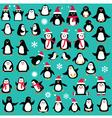 penguin clipart vector image