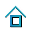 House with a roof vector image