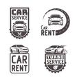 Automotive Car rent repair Logo Template Design vector image