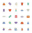 Clothes Icons 3 vector image