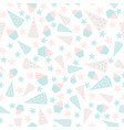 seamless pattern for birthday present vector image