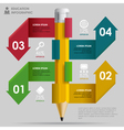 Education Template vector image