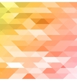 Colorful pink orange green polygonal background vector image