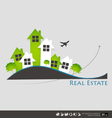Real Estate House vector image vector image