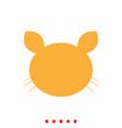 cat head it is icon vector image