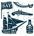 Pirates Quote Set vector image