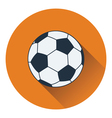 Icon of football ball vector image vector image