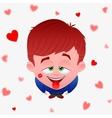 boy love vector image