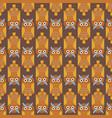 cartoon owl bird cute character seamless pattern vector image