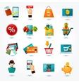 E-commerce Icons Set vector image
