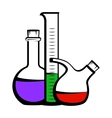 Chemistry icon vector image