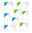 Blank Web Banner Templates vector image
