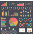 Business Infographic Elements vector image vector image