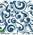 Blue Wave seamless on a white background vector image