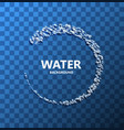 modern creative water background vector image
