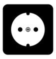 Socket icon vector image vector image