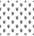 marker location with envelope sign pattern vector image