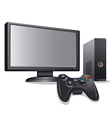game play station icon vector image