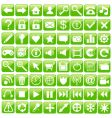 web icon set vector image vector image
