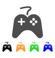 game pad icon vector image