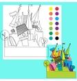 Fairy tale castle vector image