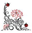 Meadow summer time vector image vector image