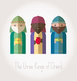 The Three Kings of Orient wiremen vector image vector image