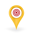 Target Location vector image