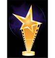 movie award vector image vector image