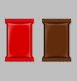 Polymer packaging vector image vector image