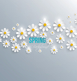 spring background 2 vector image