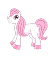 cute sly horse vector image
