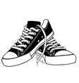 of shoes vector image