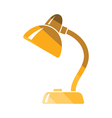 Lamp icon vector image