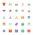 Clothes Icons 12 vector image