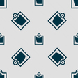 sheet of paper icon sign Seamless pattern with vector image