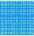 Plaid pattern with crossing watercolor lines vector image