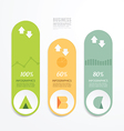Modern Design Minimal style infographic template vector image vector image
