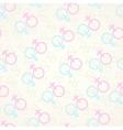 Gender seamless background vector image
