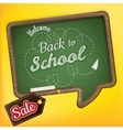 Back to school Sale EPS 10 vector image vector image