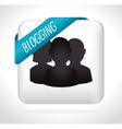 Blog design vector image