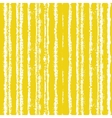 Striped pattern with brushed lines in yellow vector image