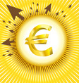 euro design vector image
