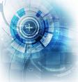 Technology futuristic digital background vector image