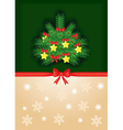 fir and background vector image