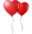 Heart Ballons vector image