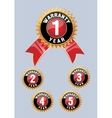 One year warranty icon isolated vector image