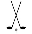 golf 38 vector image vector image