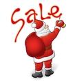Santa Claus sale vector image