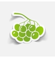 realistic design element berries vector image